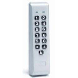 IEI - 212ILM-AL - 212ILM-AL Mullion backlit keypad, REX input, Aluminum, 0-231344