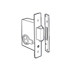Adams Rite - 2331-121 - 2331-121 Adams Rite Aluminum Door Deadlocks