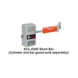 Detex - ECL-230D BLACK - Exit Control Hardware, Cylinder Mortise