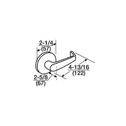 Corbin Russwin - ML2053 NSA 605 - ML2053 NSA 605 Corbin Russwin Mortise Lock