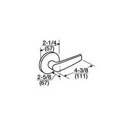 Corbin Russwin - ML2055 CSA 613 LC - ML2055 CSA 613 LC Corbin Russwin Mortise Lock