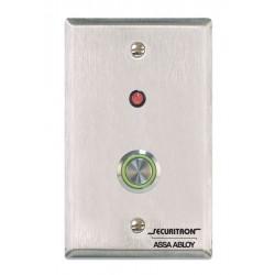 Securitron / Assa Abloy - PB4L-2 - Securitron PB4L-2 Push Button - Single Gang