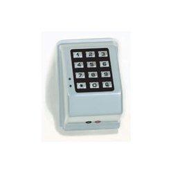 Alarm Lock - PDK3000 US26D - Access Keypad, 3-3/16 in. W, Satin Chrome