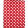 Accellorize - 16127 - Accellorize 16127 Red Dot Ipad Mini Case Flips Open And