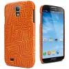 Cygnett - CY1179CXICO - Cygnett Ronnie Tjampitjinpa - Perentie Soft-Touch Case Samsung Galaxy S4 - Smartphone - Orange - Perentie Dreaming