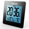 BALDR Electronic - CL0114BL1 - Baldr Cl0114bl1 Black Atomic Digital Desk Alarm Clock