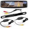 Boss Audio Systems - BV435WTR - Boss Bv435wtr Rear View Mirror With 4.3 Inch Builtin Monitor