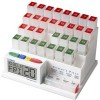 MedCenter - 70265 - Medcenter 70265 Monthly Pill Organizer Reminder 4daily Alarm