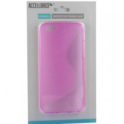 Accellorize - 35000 - Accellorize 35000 Pink Protective Case For Iphone 6 Made Of