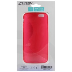 Accellorize - 35001 - Accellorize 35001 Red Protective Case For Iphone 6 Made Of