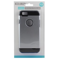 Accellorize - 35006 - Accellorize 35006 Metal Black Protective Case For Iphone 6