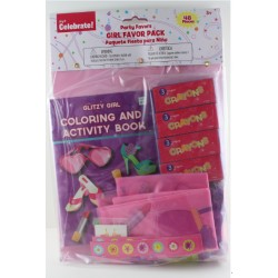 Accellorize - 92206 - Accellorize 92206 Party Favor 48piece Girl Favors Party Pack