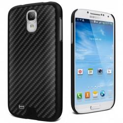 Cygnett - CY1197CXURB - Cygnett Black Carbon Fibre UrbanShield Carbon Fibre Galaxy S4 - Smartphone - Black - Carbon Fiber - Brushed - Aluminum