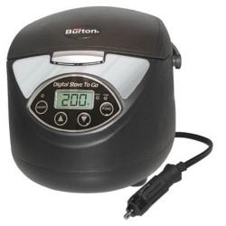 Aervoe - 6905 - Max Burton 6905 Digital Stove To Go 12 Volt Portable 1.5liter