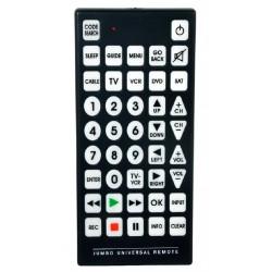 QFX - REM115 - Qfx Rem115 Jumbo Universal Remote Control For 8 Devices