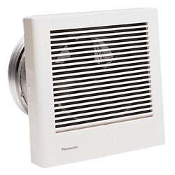 Panasonic - FV08WQ1 - Panasonic Fv08wq1 Vent Wall Mounted Fan 70cfm 18w Whisperwall