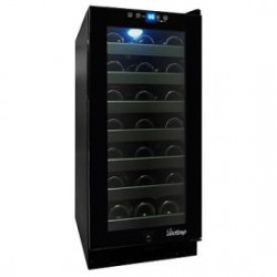 Vinotemp - VT32TSFESM - Vinotemp Vt32tsfesm Wine Cooler 33 Bottle Touch Screen