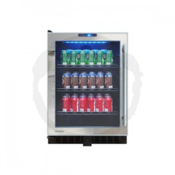 Vinotemp - VTBC54TSSML - Vinotemp Vtbc54tssml Beverage Cooler Mirrored Touch Screen