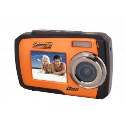 Coleman Company - 2V7WP-O - Coleman Duo Compact Camera - Orange - 2.7 LCD - 8x - 640 x 480 Video