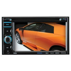 Boss Audio Systems - BV9364B - BOSS AUDIO BV9364B Double-DIN 6.2 inch Touchscreen DVD Player, Receiver, Bluetooth, Wireless Remote - Plays   CD?R/RW, DVD?R/RW, MP3/DVD/CD/USB/SD