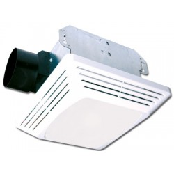 Air King - ASLC70 - Air King ASLC70 Ceiling Fan/Light, 70 CFM, CFL/Incandescent