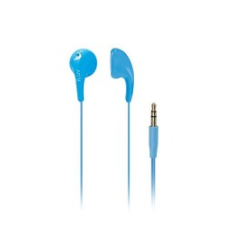 iLuv - BBGUMTALKSBL - Iluv Bbgumtalksbl Blue Bubblegum Talk Earphones With Mic