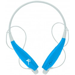Xit - AXTBTHSBBL - Xit Axtbthsbbl Blue Sound Band Bluetooth Neck Headphones