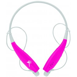 Xit - AXTBTHSBPK - Xit Axtbthsbpk Pink Sound Band Bluetooth Neck Headphones