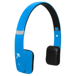 Xit - AXTBTHSHBL - Xit Axtbthshbl Blue Bluetooth Headphones Sound Hue Feature