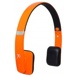 Xit - AXTBTHSHOR - Xit Axtbthshor Orange Bluetooth Headphones Sound Hue Feature