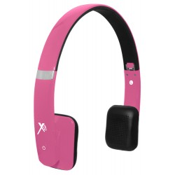 Xit - AXTBTHSHPK - Xit Axtbthshpk Pink Bluetooth Headphones Sound Hue Feature
