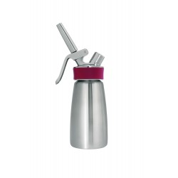 ISI - 140301 - Isi 140301 Gourmet Whip Half Pint Plus Whipper Brushed Steel