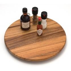 Lipper - 1116 - Lipper Condiment Organizer - 16 Width x 16 Depth - Closet, Cabinet - Natural - Acacia Wood - 1