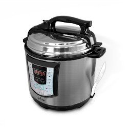 NutriChef - PKPRC22 - Nutrichef Pkprc22 Electronic Pressure Cooker And Steamer