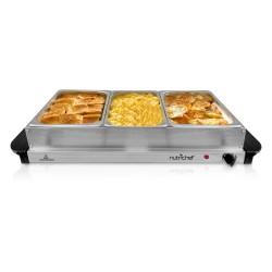 NutriChef - PKBFWM330 - Nutrichef Pkbfwm330 Food Warming Tray Buffet Server & Warmer