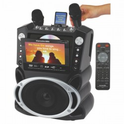 JS Karaoke - GF829 - Js Karaoke Gf829 Karaoke Player Recorder 7 Color Tft Screen