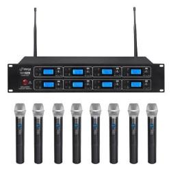 Pyle / Pyle-Pro - PDWM8250 - Pyle Pdwm8250 8 Channel Wireless Microphone System