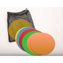 Sports Invasion - MCRMKF - Sports Invasion Mcrmkf Multi Colored Rubber Spot Markers