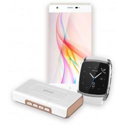 Envic - ESP01W - Envic Esp01w White Unlocked Cell Phone Bundle Includes