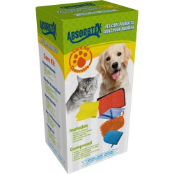 Absorbtex / Fort International - ABPCK100 - Absorbtex Abpck100 Pet Care Bundle Kit Includes Microfiber