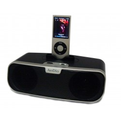 Kinyo - MS-780 - ArtDio MS-780 2.0 Speaker System - 2 W RMS - Black, White - 120 Hz - 20 kHz - USB - iPod Supported