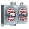 "Appleton Electric - EDSC250-F4W - 4-Way 20 Amp Front Operated Tumbler Switch, 1/2"" Feed-Thru Hub Style, EDSC Series"