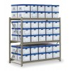 """Other - RSS7218 - Starter Bulk Storage Rack, 72""""W x 18""""D x 72""""H, No. of Shelves: 3, Decking: Particle Board"""