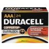 Duracell - MN2400BKD - CopperTop Alkaline Batteries, Duralock Power Preserve Technology, AAA, 144/CT