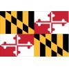 Annin - 142360 - Maryland State Flag, 3 ft.H x 5 ft.W, Outdoor