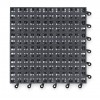 Wearwell / Tennessee Mat - 561 - Interlocking Drainage Mat, Vinyl, Black, 1 ft. 6 x 1 ft. 6, 10 PK