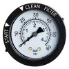 Blue Wave - NEP4022 - Rear Mount Dial Pressure Gauge