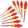 Wera Tools - 05345210001 - Keystone Slotted/Phillips Insulated Screwdriver Set, Multicomponent, Number of Pieces: 10