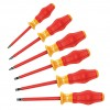 Wera Tools - 05345213001 - Keystone Slotted/Phillips Insulated Screwdriver Set, Multicomponent, Number of Pieces: 6