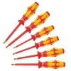 Wera Tools - 05006145001 - Keystone Slotted/Phillips Insulated Screwdriver Set, Multicomponent, Number of Pieces: 6